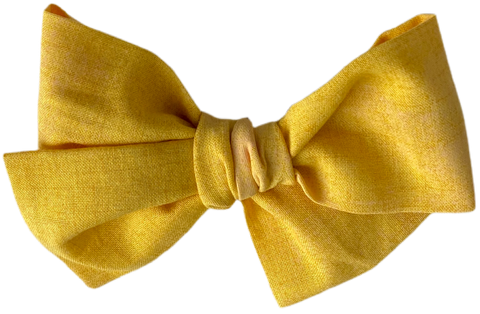 Sunshine Yellow Midi Bow