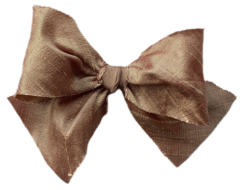 Rose Gold Silk Limited Edition Midi Bow