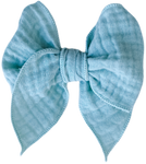 Sage Gauze Sailor Bow