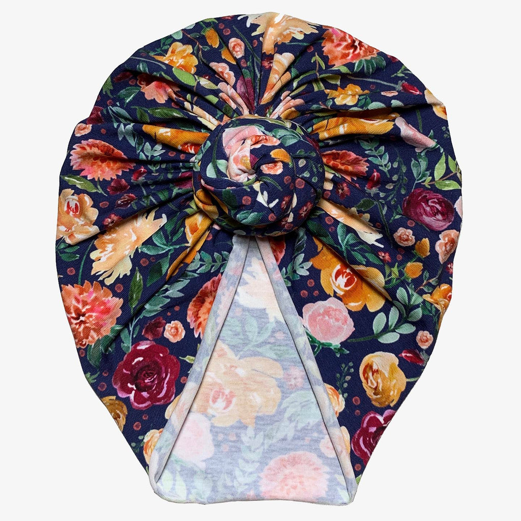 Twilight Garden Turban