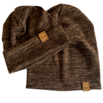 Brown Heather Beanie
