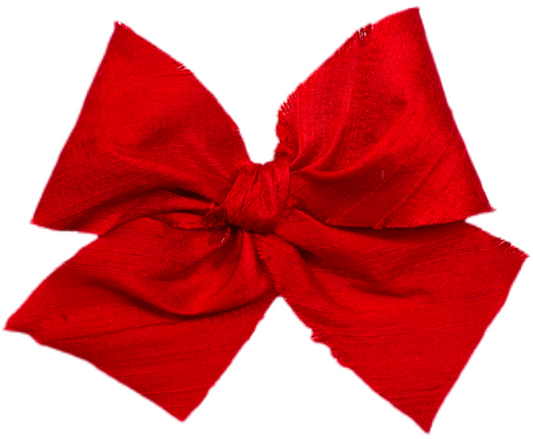 Poppy Silk Limited Edition Midi Bow