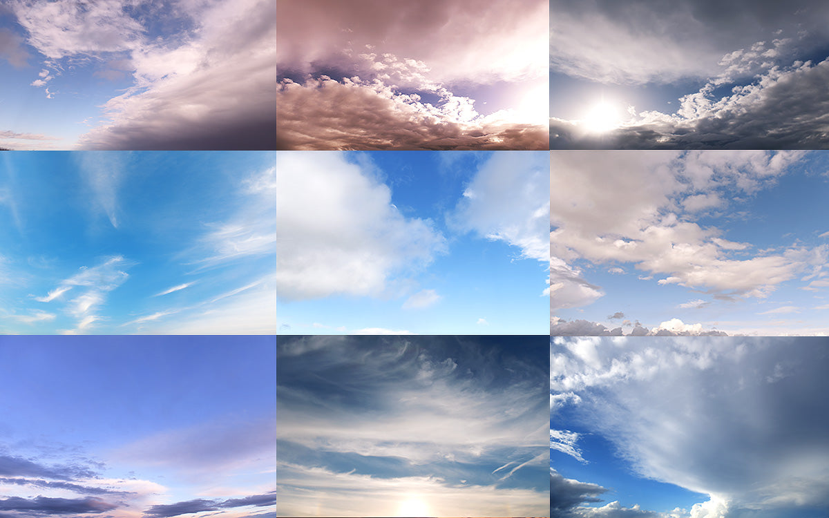 how to photoshop a sky