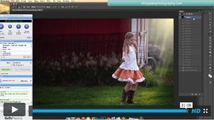 Creating Luscious Light In Photoshop Instructional Workshop ShopJeanPhotograpy.com
