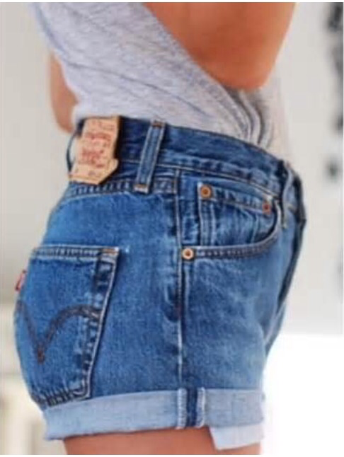 Vintage Handcrafted Levi`s Wear Them Cuffed or Wear Them Rolled down