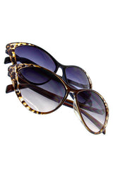 Cheetah Cat Eye Sunnies