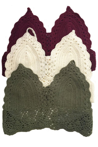 Crotchet Halter Top