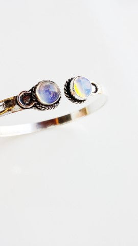 Opal Turkish Stacking Bracelet