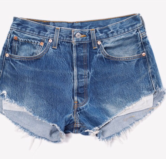 Levi's Button Fly Cutoffs