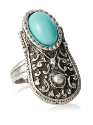 Turkish Silver Ring