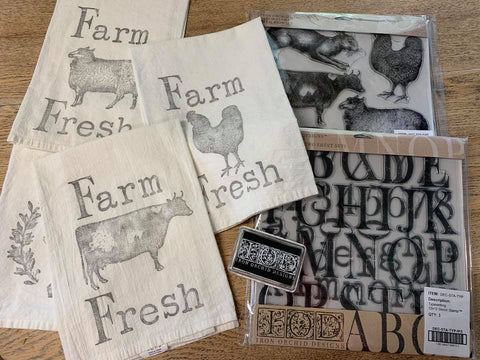 IOD Decor Stamps