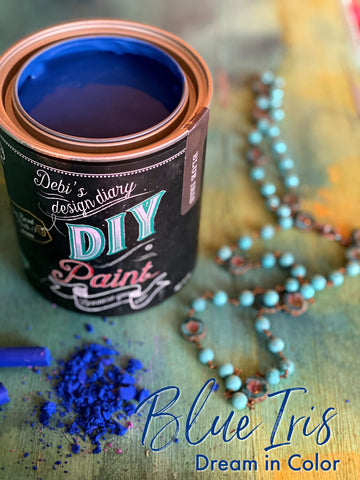 Blue Iris DIY Paint