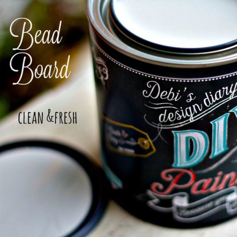 Bead Board DIY Paint