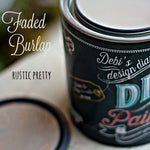Faded Burlap DIY Paint
