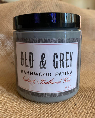 Old & Grey Barnwood Patina DIY
