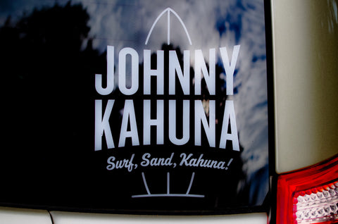 Johnny Kahuna® DECALS!