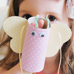Craft / Cardboard Tube Butterflies