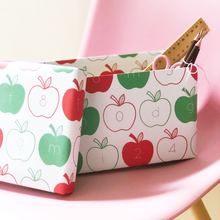 Apple Letters And Numbers Wrapping Paper Set - Clara and Macy