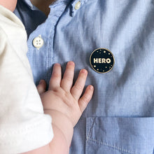 Dad Hero Enamel Pin Badge