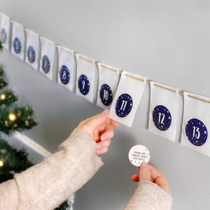 Personalised A Date A Day Couple's Advent Calendar - Clara and Macy