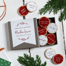 Personalised First Christmas New Baby Keepsake Tokens - Clara and Macy