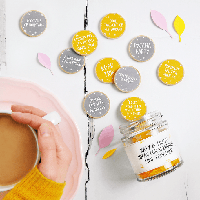 Personalised Friendship Date Ideas Jar - Clara and Macy