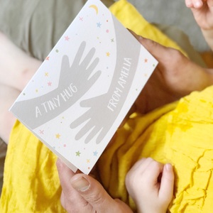 Personalised Tiny Hug First Mother's Day Card - Clara and Macy
