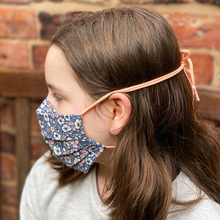 Handmade Paisley Cotton Fabric Face Mask