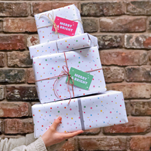 Merry And Bright Christmas Wrapping Paper Set - Clara and Macy