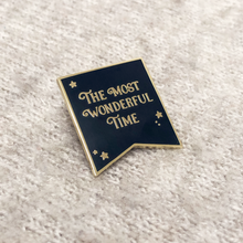 Set Of 'Wonderful' And 'Believe' Enamel Pin Badges