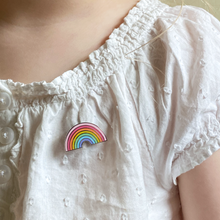 Pastel Rainbow Enamel Pin Badge