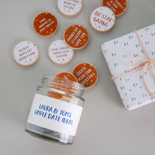 Personalised Couple's Date Ideas Jar - Clara and Macy