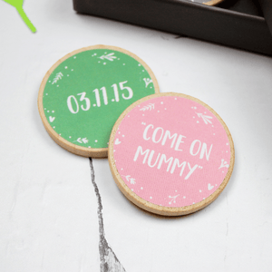 Personalised The Tiny Story Of Mummy And Me Tokens - Clara and Macy