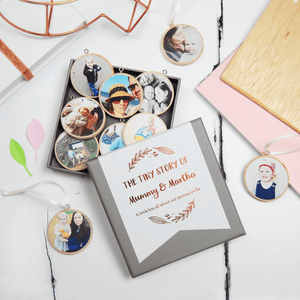 Personalised Mummy And Me Photograph Keepsakes - Clara and Macy