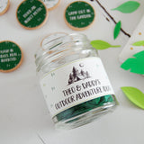 Personalised Daddy's Outdoor Adventures Ideas Jar - Clara and Macy