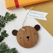 Family Set Of Personalised Bear Decorations - Clara and Macy