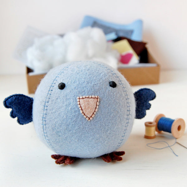 Make Your Own Bluebird Craft Kit - Clara and Macy