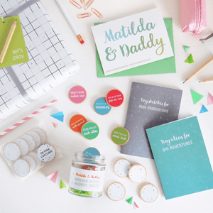 Daddy's Boredom Busting Ideas Gift Set - Clara and Macy