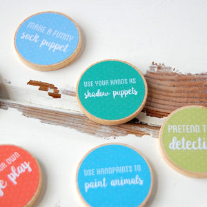 Personalised Daddy And Me Activity Tokens Jar - Clara and Macy