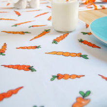 Carrot Fabric Napkin Sets - Clara and Macy