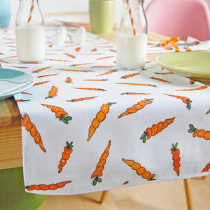 Carrot Fabric Table Runner - Clara and Macy