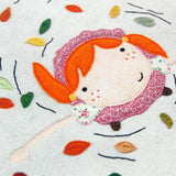 Dancing In The Leaves Print - Clara and Macy