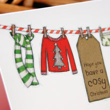 Colin's Washing Line Christmas Cards