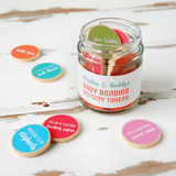 Personalised Daddy And Baby Bonding Tokens Jar - Clara and Macy