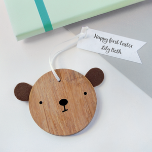First Easter Personalised Baby Bear Keepsake - Clara and Macy