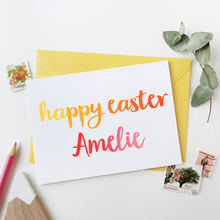 Personalised Easter Card - Clara and Macy