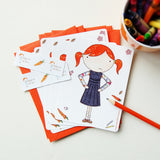 Clara Notecards - Clara and Macy