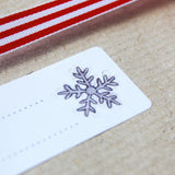 Robin and Snowflake Gift Labels - Clara and Macy