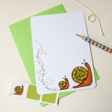 Snail Notecards