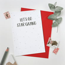 Let's Go Star Gazing Card - Clara and Macy